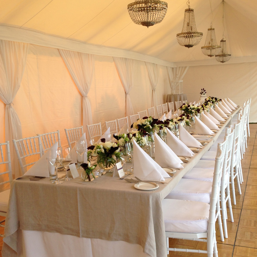 Home taylored to suit for Au jardin wedding package